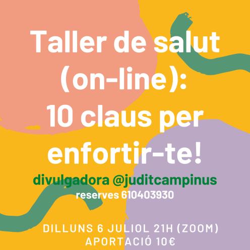 Taller on-line_ 10 claus per enfortir-te! (1)